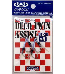 Αγγίστρια Vanfook Deco Twin Assist DT-30