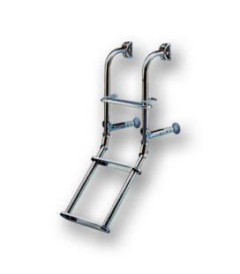 Ανοξείδωτες Σκάλες με Τρία Σκαλοπάτια