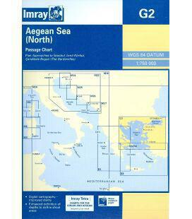 Ναυτικοί Χάρτες Imray G2 – Βόρειο Αιγαίο Πέλαγος