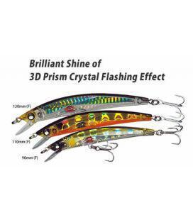Τεχνητά Yo-Zuri Crystal 3D Minnow Επιφανείας
