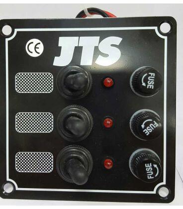 JTS Sealed Toggle Switch Panel