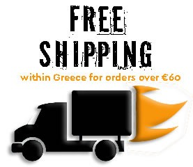 Free Shipping within Greece for orders over €60